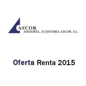 Ascor renta 2015