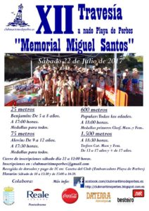 "TRAVESÍA POPULAR ""MEMORIAL MIGUEL SANTOS"""