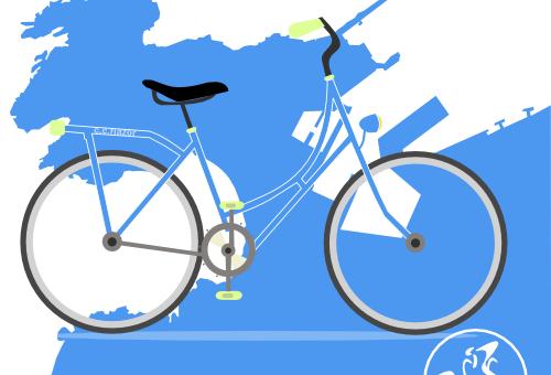 Evento ciclismo enbiciate 2017 A Coruña