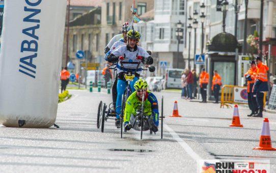 Media maratón Vig-Bay en handbike